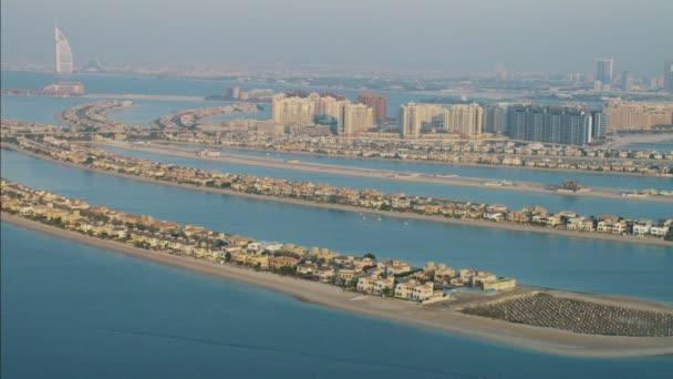 Aerial Dubai Palm Jumeirah Island