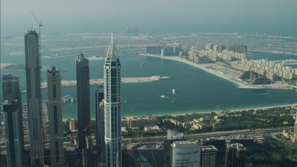 Dubai Skyscrapers Palm Jumeirah Island