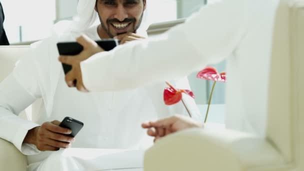 Arabské obchodní lidé mají setkání