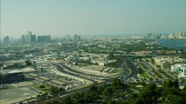 Anténa Dubai Creek nábřeží přístav