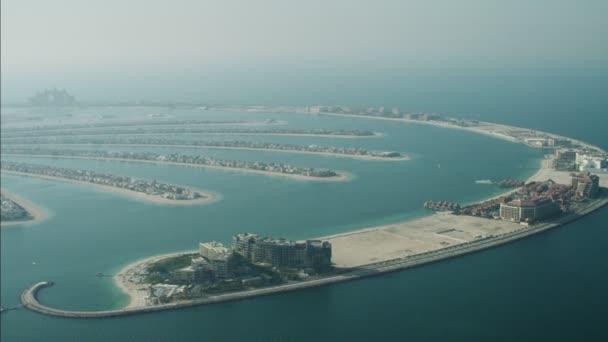 Dubai Palm Jumeirah ostrov listy