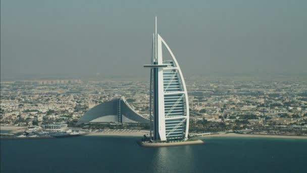 Dubai Burj Al Arab 7 Sterne Hotel Stockvideo Spotmatik 77838152