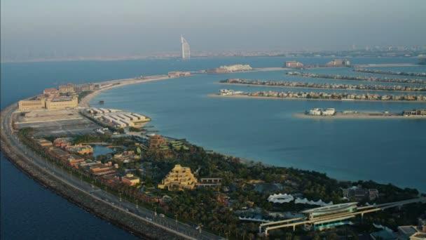 Aerial Atlantis Hotel Burj Al Arab