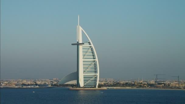 Dubai Burj Al Arab 7 Sterne Hotel Stockvideo Spotmatik 77840460