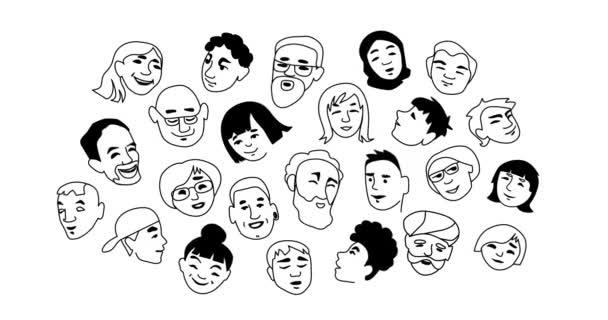 Animierte Personenporträts für die sozialen Medien
