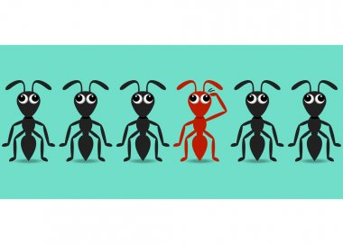 Ant cartoon characters