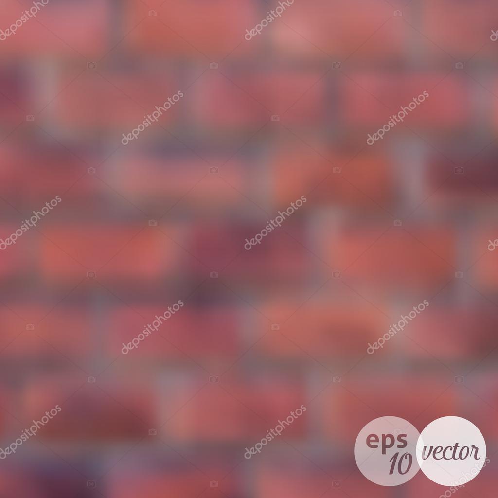 ぼやけレンガ壁の背景 ストックベクター C Blumer 1979 64533113