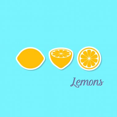 Creative design with lemons