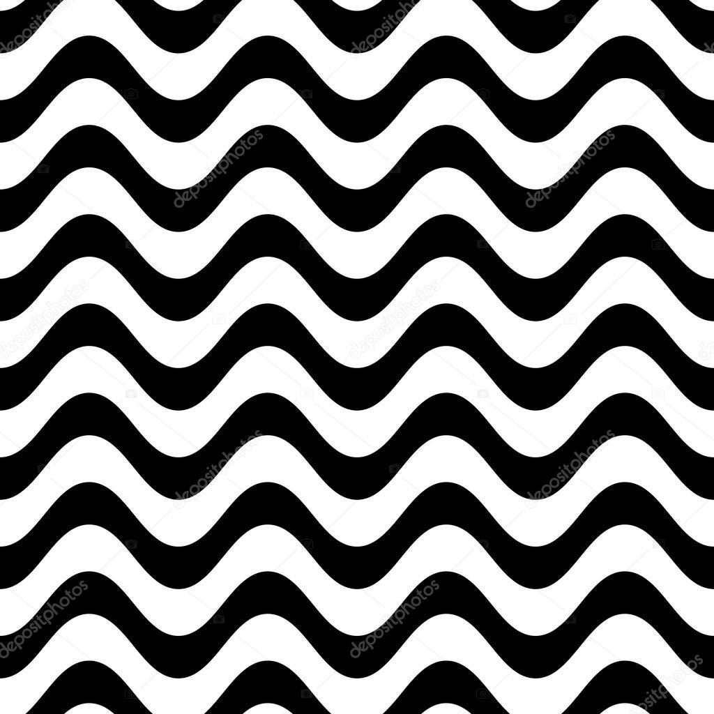 Patrón transparente línea ondulada — Vector de stock © blumer-1979 ...