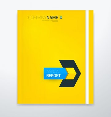 Modern cover for annual report