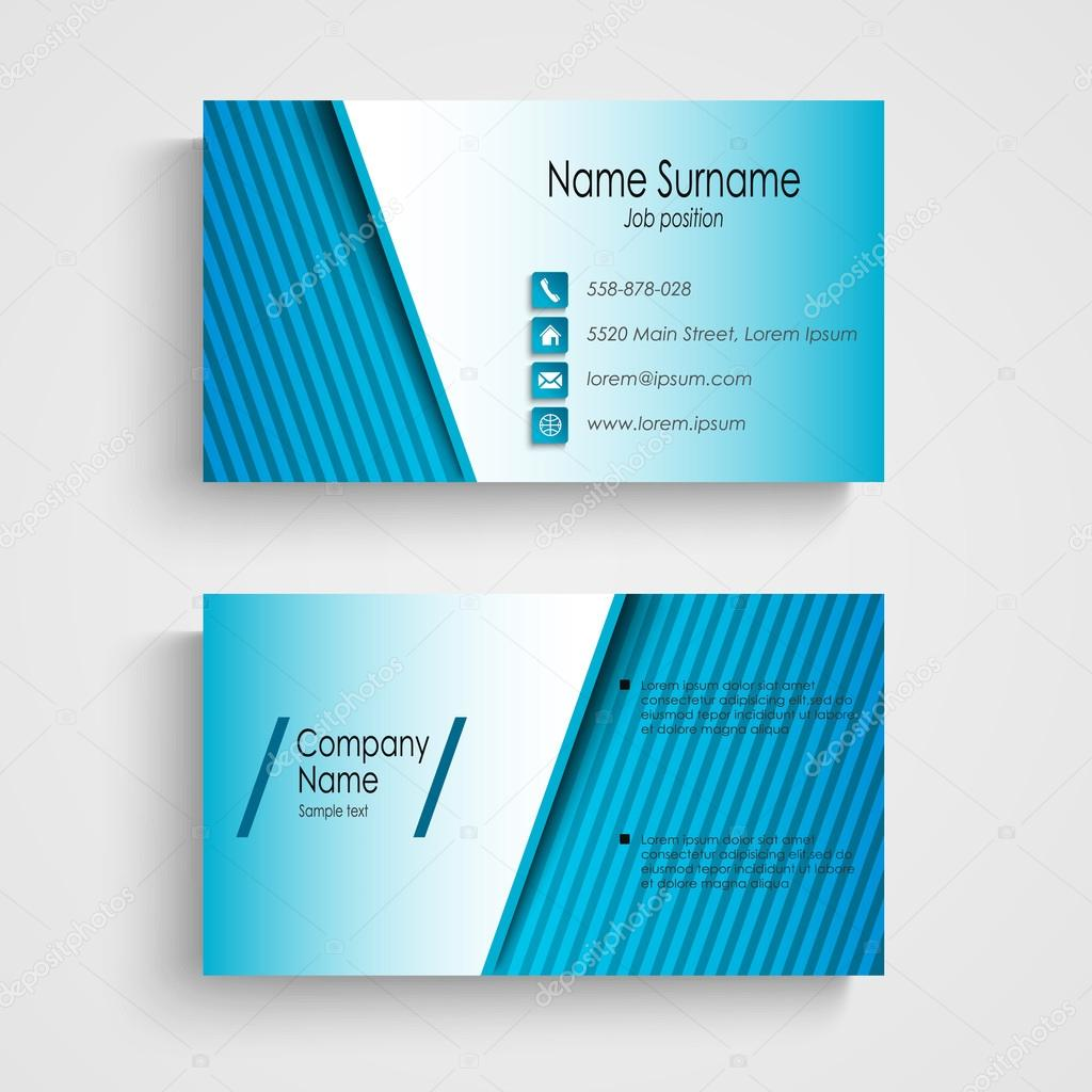 plantillas tarjetas de presentacion modernas tarjeta de