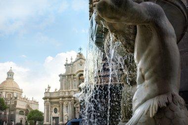 Santa Agatha in Catania.  Italy