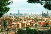 Fotografie Panoráma města Barcelona