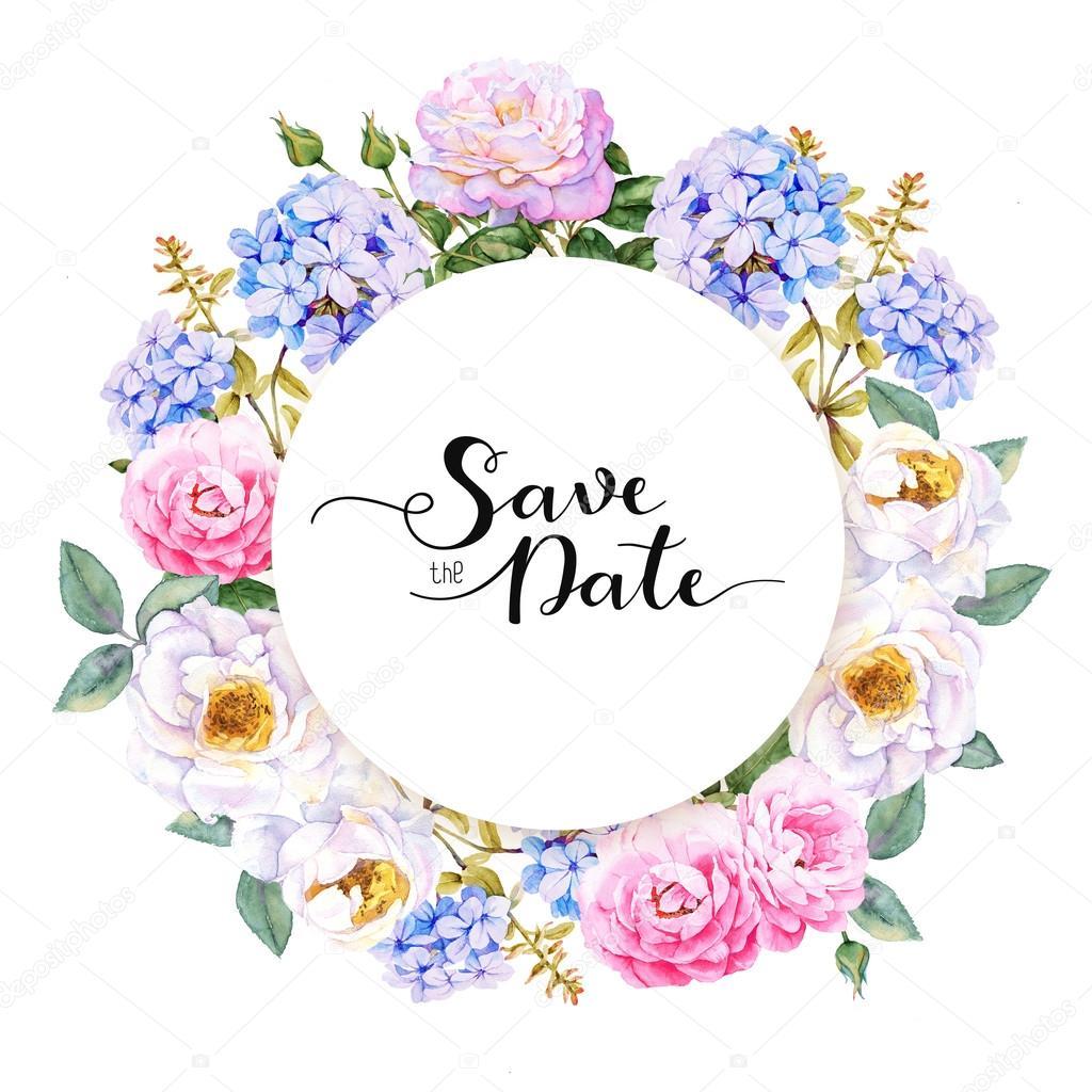Рисованные картинки свадебные