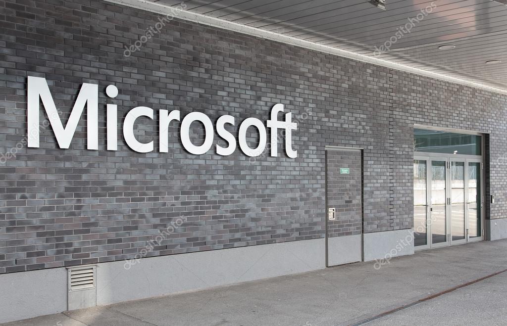 Ufficio Di Entrata : Entrata dell ufficio di microsoft svizzera u foto editoriale stock