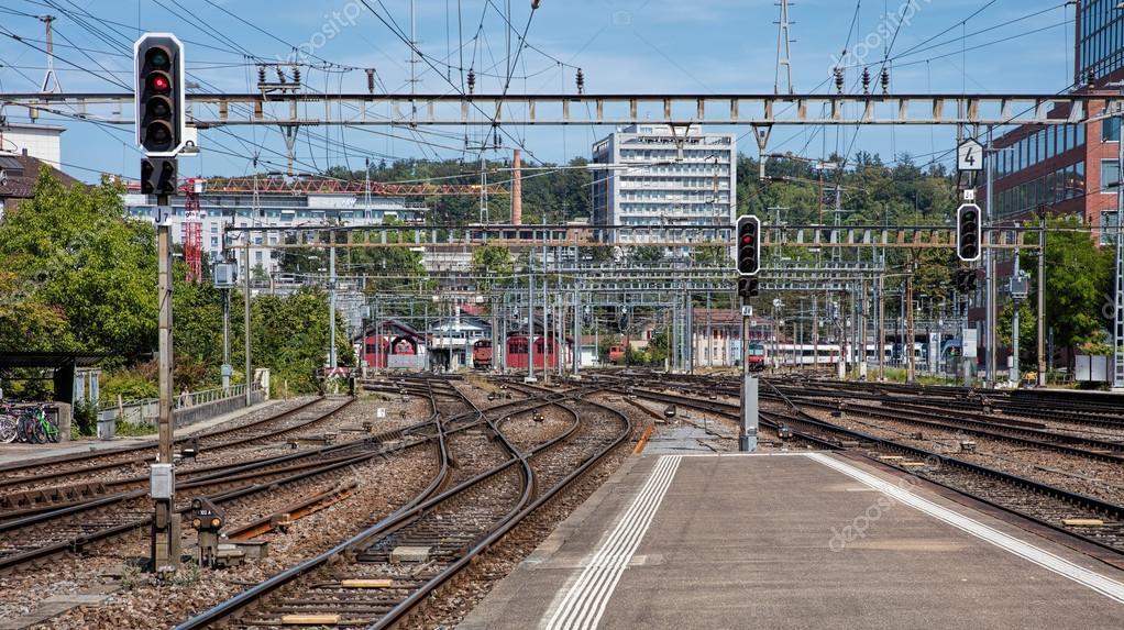 Railways of the Winterthur Main Station