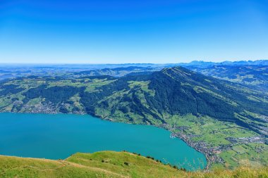 View from Mount Rigi in autumn