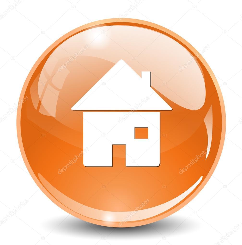 Home web icon — Stock Vector © sarahdesign85 #69597355