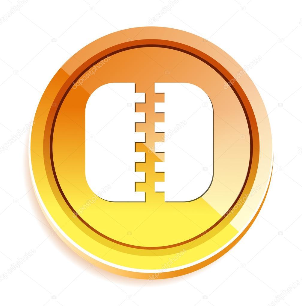 Zip file icon — Stock Vector © sarahdesign85 #70238229