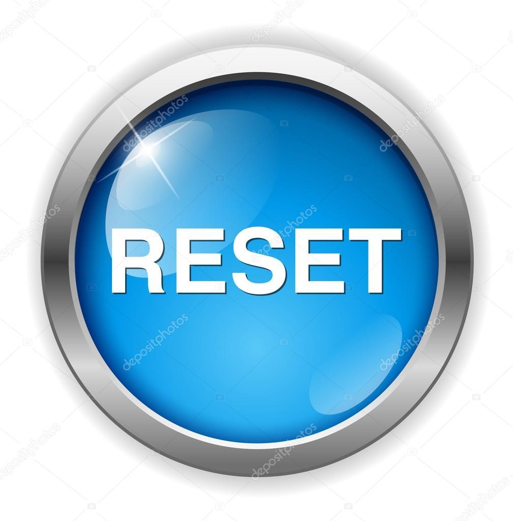 reset button icon stock vector sarahdesign85 70280439