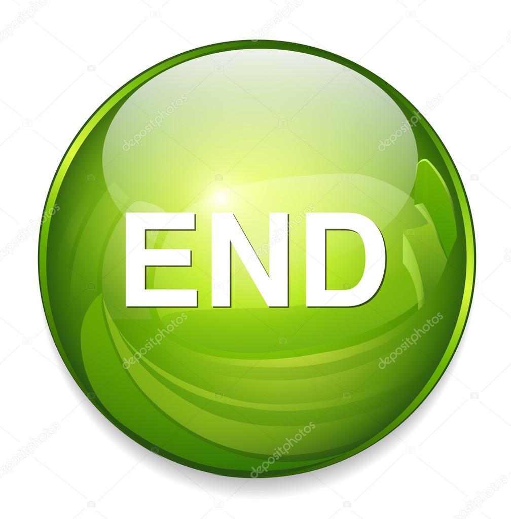 End button icon — Stock Vector © sarahdesign85 #70280691