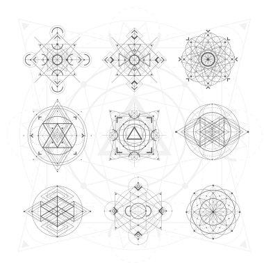 Sacred geometry signs