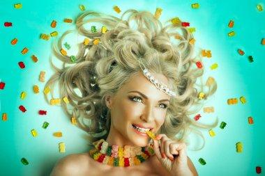 beautiful  Princess of sweets