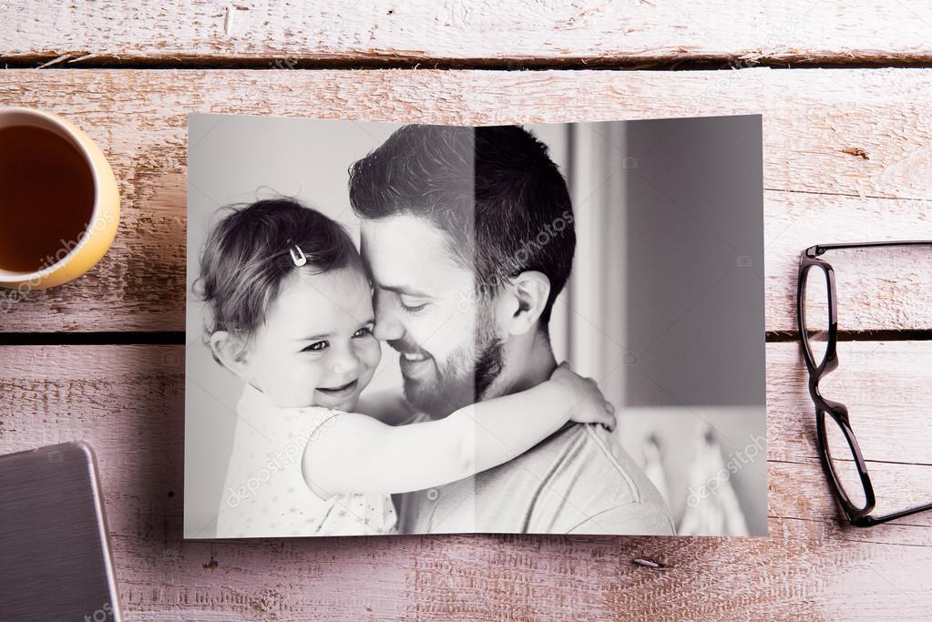 Composición del día de padres — Fotos de Stock © halfpoint #109077954