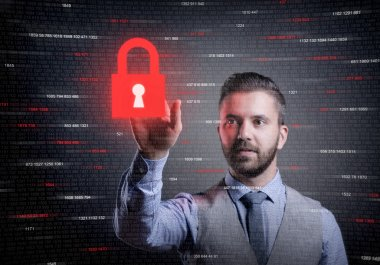 Concept of online business security