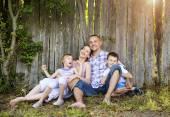 rodina trávit čas společně