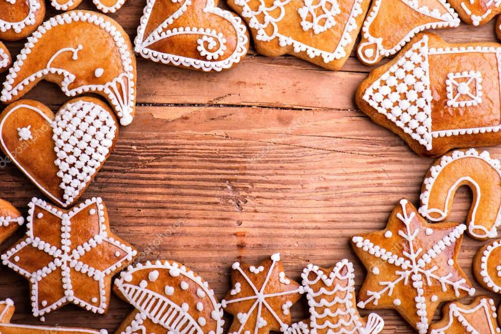 Christmas Cookies Background Stock Photo C Halfpoint 91524884