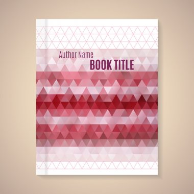 template for book cover