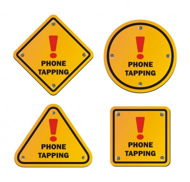 Phone tapping - warning signs
