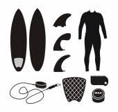Fotografie Surfbrett-Ausrüstung - Kontur