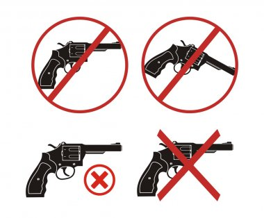 Revolver - no gun icon sets