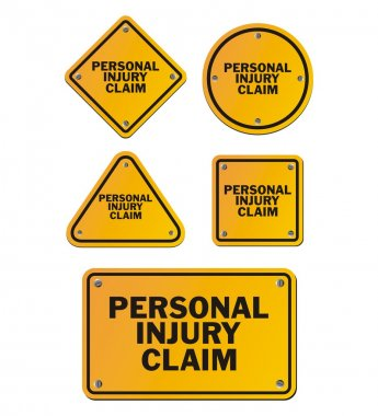 personal injury claim signs