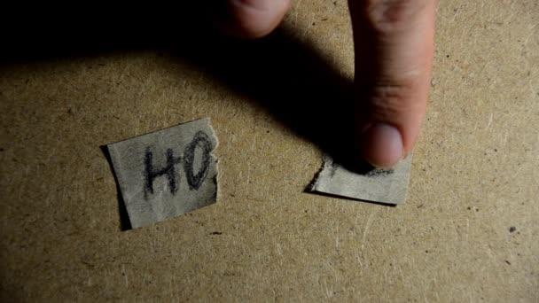 Hoffnungswort Konzept. Hoffnungsträger