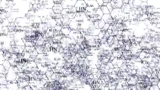 DNA molecule structure background. Chemical formula and molecular structure of DNA