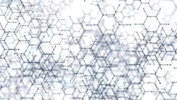 DNA molecule structure background. On a white background