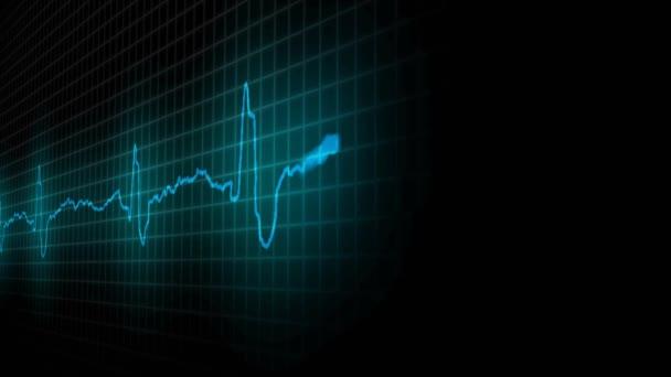 kardiogram nemocné srdce. Koncepce zdravotnictví