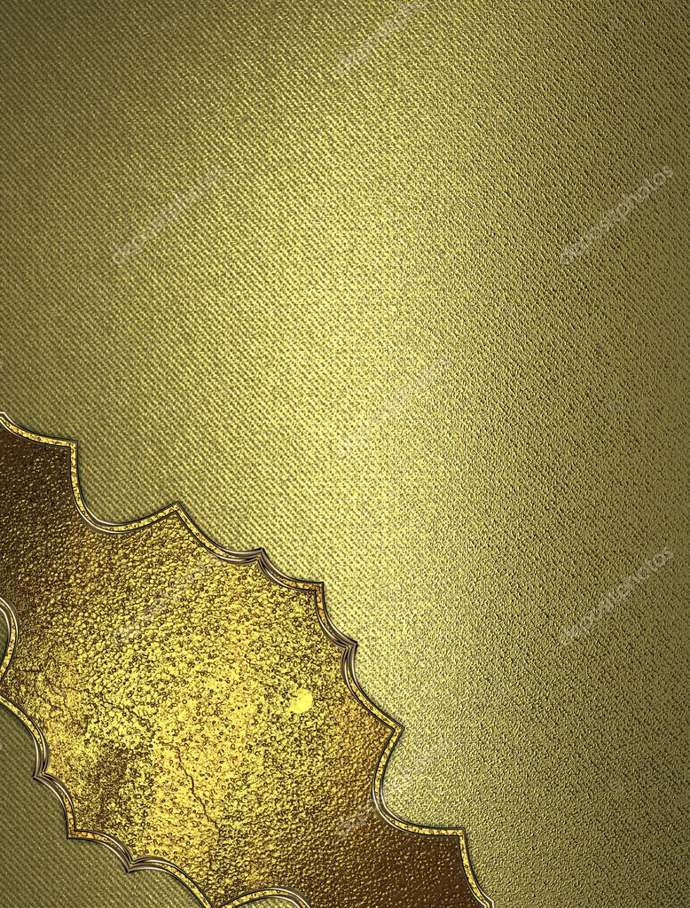 Golden texture with pattern template for design copy space for ad golden texture with pattern template for design copy space for ad brochure or announcement invitation foto de swevil stopboris Image collections