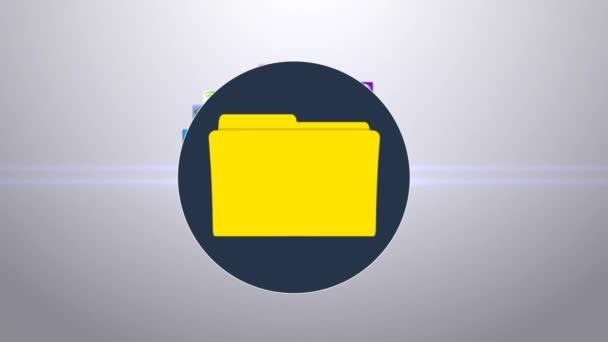 Loading media. Uploading files in the folder