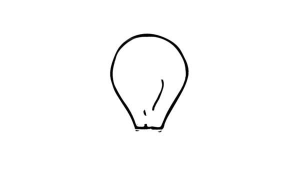 žárovka idea koncepce