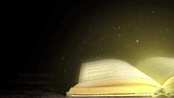 Kouzelná kniha. Kniha kouzelné příběhy. Kouzelná kniha