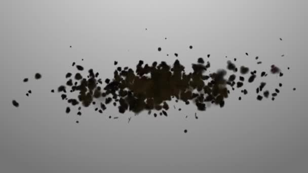 Swarm. Concepts swarm of insects or random motion of particles