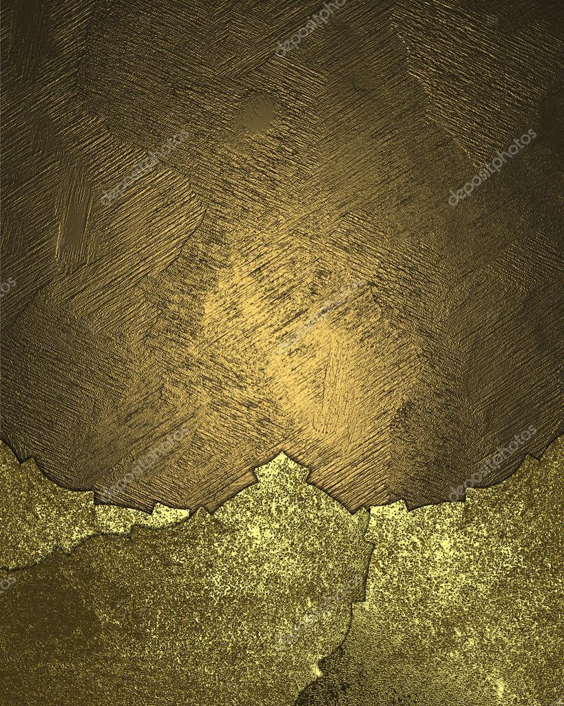 Textura de oro con placa de oro desgastada. Diseño de plantillas ...