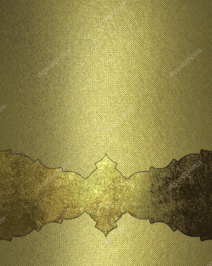 Abstract golden texture with grunge nameplate element for design abstract golden texture with grunge nameplate element for design template for design copy space for ad brochure or announcement invitation stopboris Images