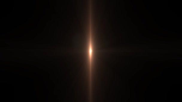 pohyb hvězd. Detail paprsky slunce, hvězdy. Sluneční paprsky lesk