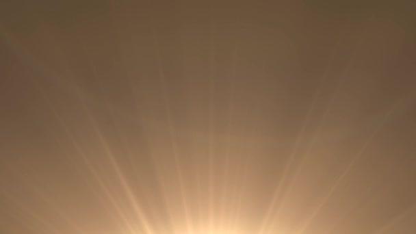 Detail slunce. Paprsky hvězdy lesk