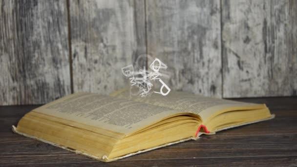 Fogalma szerelem könyv. Levelek repül ki a könyv